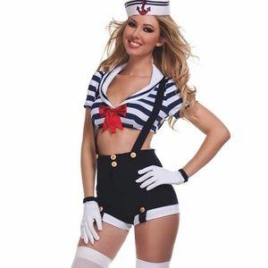 Sailor Harbor Hottie Starline Costume XL